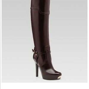 Gucci dahlia boots
